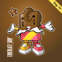 The Making of a Chocolate Bar Character