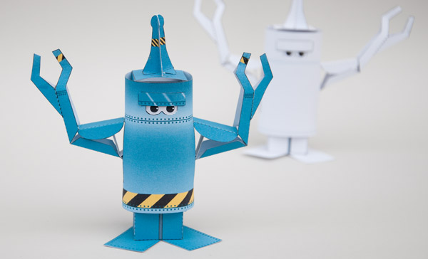 Link toHow to make an animated paper robot