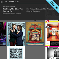 iPad Magazine Interface Design