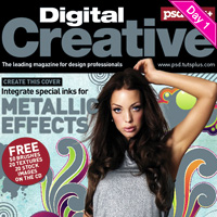 Preview for Create a Five-color Magazine Cover using a Spot Metallic