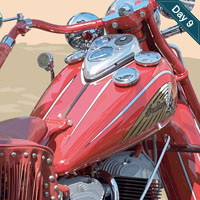 Preview for Realistic Vector Motorcycle Portraits